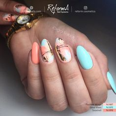 The advantage of the gel is that it allows you to enjoy your French manicure for a long time. There are four different ways to make a French manicure on gel nails. Nail Art Vernis, Nail Manicure, Nail Polish, Manicure Ideas, Pedicure Designs, Nail Art Designs, Gorgeous Nails, Pretty Nails, Hair And Nails