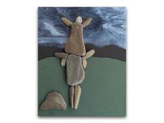 Pebble Art, love is in the air, i love plmtbk by yasavas
