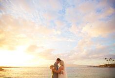 Sunset Maui Wedding - Anna Kim Photography