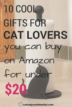 These gift ideas are perfect for cat lovers! All of these are under 20 dollars, making them cheap options that are absolutely awesome! Gifts For Pet Lovers, Pet Gifts, Cat Lovers, Crazy Cat Lady, Crazy Cats, Funny Cute Cats, Cat Aesthetic, Cat Quotes, Buy A Cat