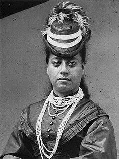 Queen Emma Kalanikaumaka'amano Kaleleonālani Na'ea Rooke of Hawai'i(January 2, 1836 – April 25, 1885).