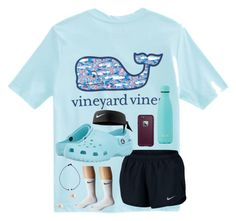 """""""back to school shopping"""" by pstephan48 on Polyvore featuring Vineyard Vines, NIKE, Crocs, LifeProof and J.Crew"""