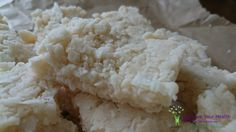 Blonde Coconut Bars - super healthy and decadent too.