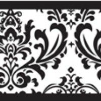 sweet jojo designs black and white isabella wall border by