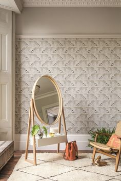 Fabulous Leopard Walk wallpaper design by Cole and Sons. Neutral Wallpaper acd5514115