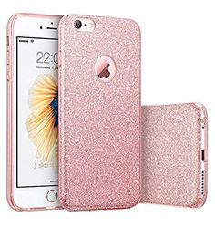 """cool Qissy® ( No para iPhone 6 plus/6s plus ) iPhone 6/6s Funda, Carcasa iPhone 6/6s lentejuelas brillantes Case Cover Silicona Suave Funda para Apple iPhone 6/6s 4.7"""""""