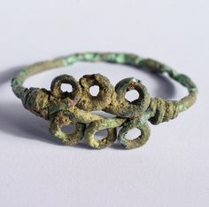 Late Romano-British ring, from Cambourne, Cambrigeshire.
