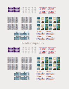 Toni Ellison: Miniature Water Bottles - UV Resin Magic Glos (Lisa Pavelka) Tutorial