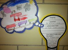 Teaching about Inventors & Inventions!  Primary Possibilities: New Ideas and Inventions!   Kid's Inventions