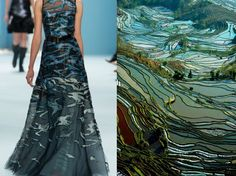 Nature inspired dresses