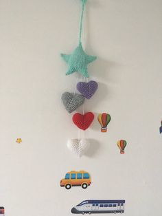 Excited to share the latest addition to my shop: Nursery decoration baby room decor Baby Room Decor, Nursery Decor, Crochet Necklace, Decoration, Unique Jewelry, Handmade Gifts, Etsy Shop, Vintage, Decor