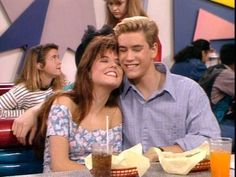 Zack and Kelly. The best couple ever besides Cory and Topanga.