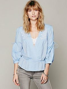 Free People FP New Romantics Crazy Little Thing Top