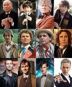 My 1000th post on Doctor Who - all the Doctors from 1963 to 2013