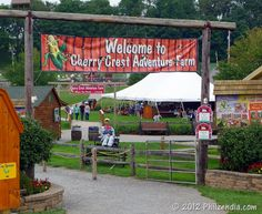 Family Fun At Cherry Crest Adventure Farm - it's become a tradition we go there every fall!!