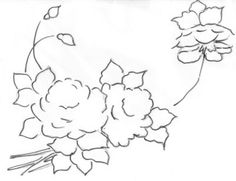 Pintura Em Tecido - Venha Aprender Pintura em Tecido: Pintura em tecido desenho de rosas com dicas