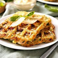 Bon Appetit, Ham, Zucchini, Waffles, Food And Drink, Low Carb, Gluten Free, Healthy Recipes, Snacks