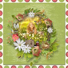 Go Camping, Floral Wreath, Digital Art, Scrap, Blog, Decor, Decoration, Scrap Material, Decorating