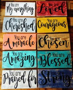 Rustic encouragement sign, blessed sign, photo prop, Christian sign, rustic cho… - Home Decor Woood Christian Signs, Christian Crafts, Christian Decor, Diy Wood Signs, Pallet Signs, Diy Pallet Projects, Wood Projects, Woodworking Projects, Deco Cafe