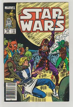 Star Wars; Vol 1, 82 Copper Age Comic Book.  VF/NM. April 1984.  Marvel Comics #starwars #comicsforsale