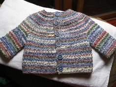 Ravelry: Unisex Baby Sweater pattern by Jayme Glover