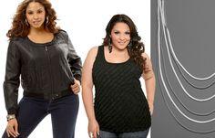 Fashion with Curves - tank has small diagonal ruffles -cute
