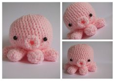 Such a cute crocheted stuffed animal! Adorable!