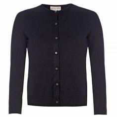 Bouvier Black Cardigan | Vintage Style Knitwear - Lindy Bop