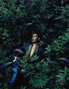 ... George of the Jungle, look at Joan Smalls in the Jungle in Vogue Japan