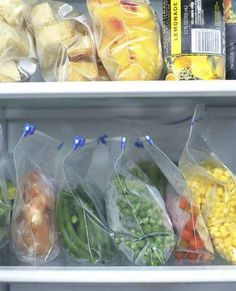 I always have frozen vegetables on hand so I buy at least 1 bag a week to keep them in stock Frozen Vegetables, Fruits And Veggies, Freezer Cooking, Cooking Tips, Canned Food Storage, Food Cost, Frozen Meals, Food Safety, Canning Recipes