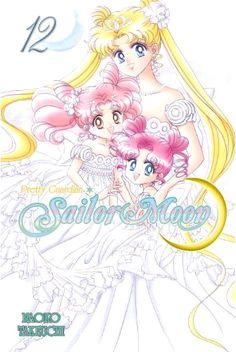 new sailor moon manga volume 12 by kodansha featuring princess serenity, chibi usa and chibi chibi on the cover. http://www.moonkitty.net/reviews-buy-new-english-sailor-moon-manga.php