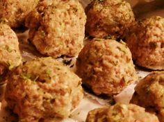 Homemade turkey meatballs