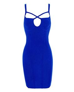 New Trending Formal Dresses: Whoinshop Womens Rayon Backless Low-cut Sling Bandage Cocktail Dress Blue M. Whoinshop Women's Rayon Backless Low-cut Sling Bandage Cocktail Dress Blue M  Special Offer: $52.00  300 Reviews 100% satisfaction guaranteed.which looks sexy and beautiful for Clubwear,Wedding and Cocktail Partiy dress Our bandage dresses are available at very competitive prices...