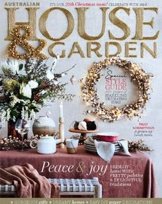 Yes, The Season is upon us. What a joy to have our Rosa tablecloth center stage of this exquisite Christmas cover. Credit to for her vision and styling prowess and also to for capturing it all so perfectly. Fall Home Decor, Autumn Home, Pink Bowls, Christmas Cover, Australian Homes, Garden Gifts, Paper Decorations, Garden Styles, Corporate Gifts