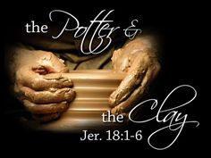 Yahweh is the Potter I am the Clay. Mold me make shape me O God into a vessel fit for your use. The Potter's Hand, Hope Is The Thing With Feathers, Seek The Lord, Jehovah's Witnesses, Word Of God, Thy Word, Christian Quotes, Christian Pictures, Bible Verses