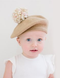 e9f2d60d5c3b NEW ARRIVALS - The cutest kids pom berets by Micaela Greg! Made from 100%