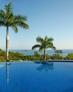Parador Resort and Spa - Manuel Antonio National Park, Costa Rica - Two of the three pools have ocean views, and one has a daytime swim-up bar. #Jetsetter