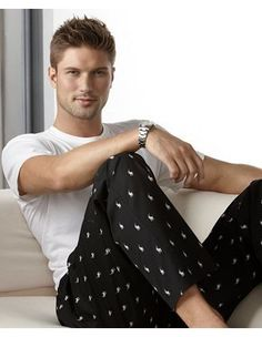 Trendy Nightwear for Men   Polo Ralph Lauren Pajamas, Polo Player Pants:...Josh is getting a new pajama wardrobe too!