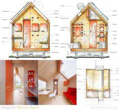 Diogene Microhouse plans