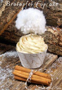 Pink Sugar: Bratapfelcupcakes mit Zimtsahnehäubchen...