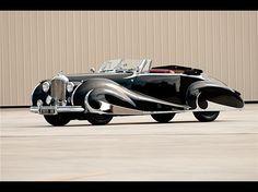 1947 Bentley Mark VI Franay cabriolet
