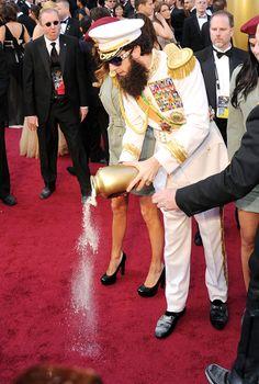 Sacha Baron Cohen At The Oscars - red carpet