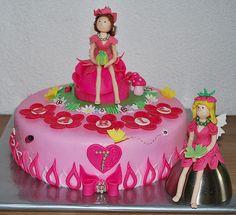 Pink Fairy Cake by me ( © www.pinterest.com/jeetjepin )