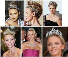The newest sapphire tiara among our list of favorites is the Océan Tiara, commissioned by Prince Albert II of Monaco as one of several wedding gifts for his new bride, Princess Charlene Wittstock. Created by renowned jeweler Van Cleef & Arpels, the tiara pays homage to Charlene's South African heritage as well as her status as an Olympic swimmer