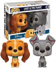 Disney Funko Pop Lady and the Tramp Disney Pop, Disney Stuff, Pop Vinyl Figures, Pop Funko Rare, Tectonique Des Plaques, God Of War, Funk Pop, Digimon, Funko Pop Dolls