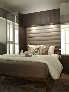 Modern #bedroom, Maddox downtown Vancouver. Even more reason to go to Vancouver! YES PLEASE.