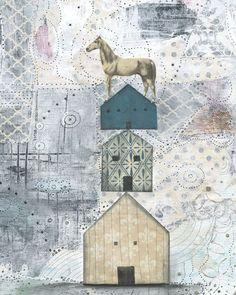 Horse Art Print by Sarah Ogren
