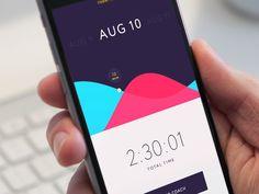 Fitness/Health App—Design Inspiration