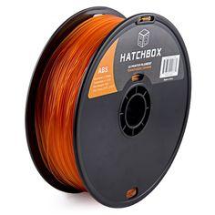 HATCHBOX 1.75 MM 1KG Transparent Orange ABS 3D Printer Filament