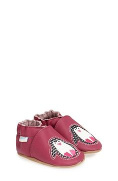 Robeez® 'Patty Popper' Crib Shoe (Baby & Walker) available at #Nordstrom